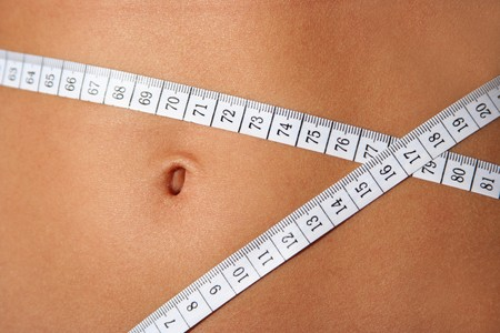 slim belly Stock Photo - 4090883
