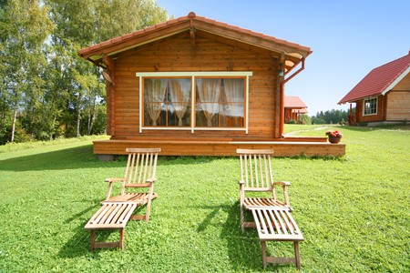 cute comfortable summer cottage Stock Photo - 4164760