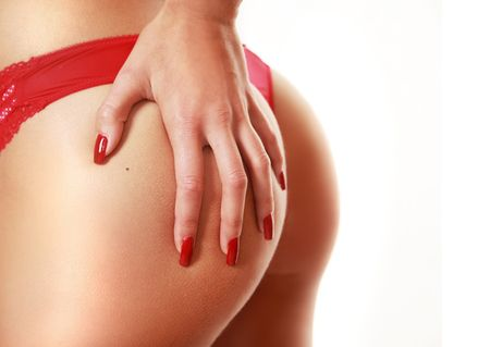 slim sexy back  Stock Photo