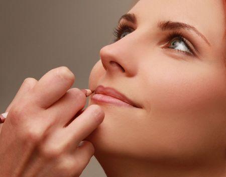 beautiful young woman in beauty-salon Stock Photo - 5792206
