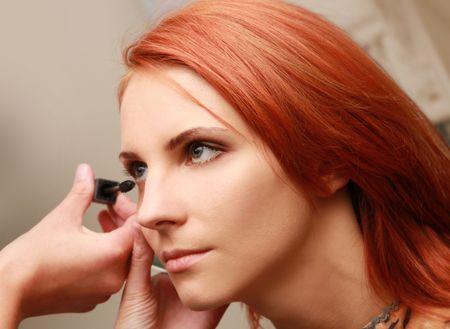 beautiful young woman in beauty-salon Stock Photo - 5933555