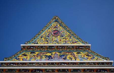 gable: Thailand gable Stock Photo