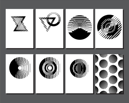 Abstract art. White a4 brochure cover design.  Modern vector. Minimal covers geometric template.