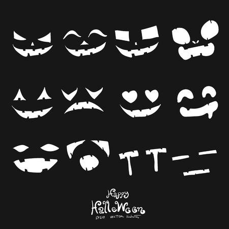 spider web: Halloween element pumpkin icon design vector illustration