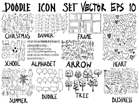 Super collection of doddle banners.