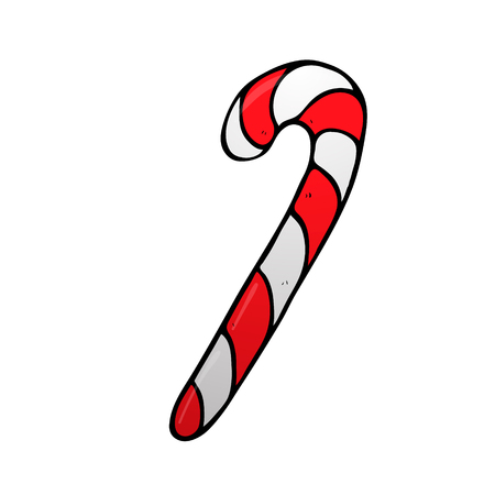 peppermint candy: Christmas peppermint candy cane with stripes icon for apps and websites