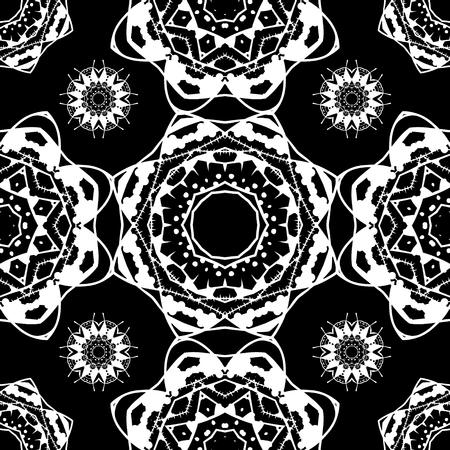 ottoman fabric: Seamless pattern. Vintage decorative elements. Islam, Arabic, Indian, ottoman motifs. Perfect for printing on fabric or paper.