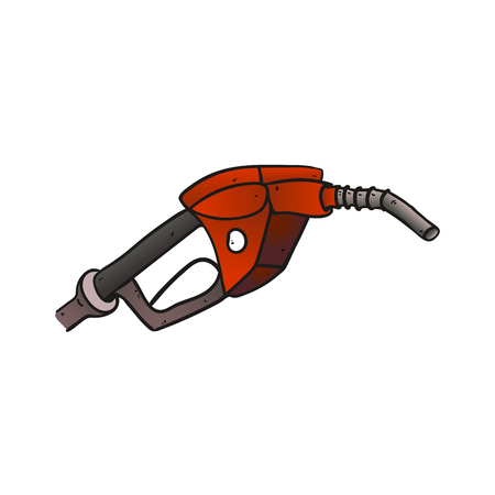 unleaded: Close up of a gas station icon.