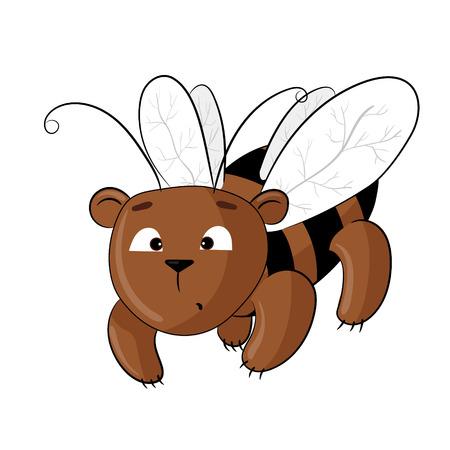 teddy bear dressed as a bee