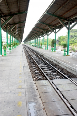 blankness: The station is empty