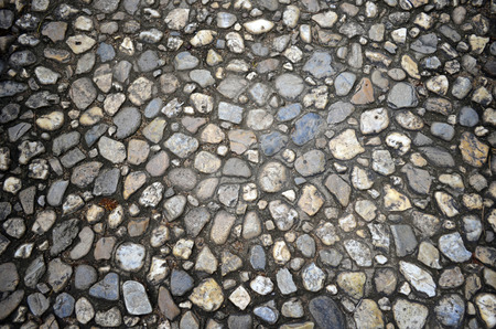 cobbled: cobbled road as background