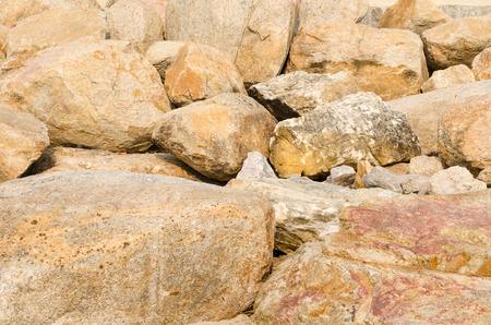 mound: mound of Stones Stock Photo