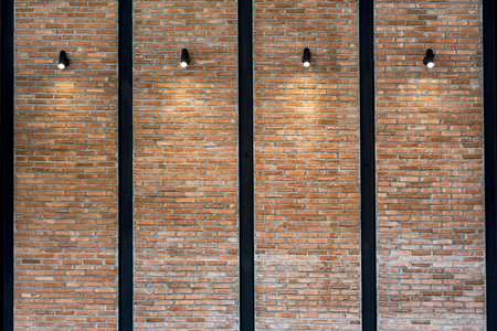 weathered: old brick wall texture background Stock Photo