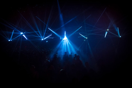 party night: People in Nightclub Concert
