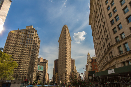 Flatiron building in Midtown New York
