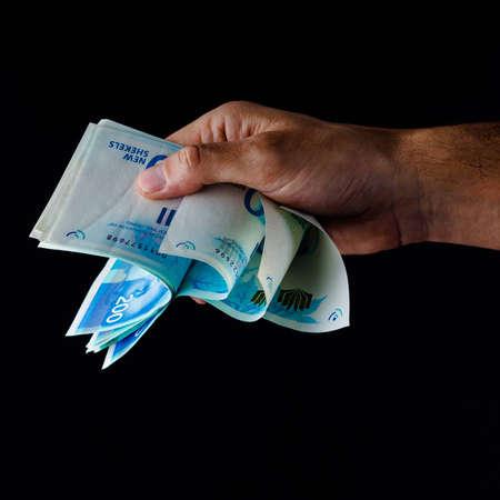 Counting cash Фото со стока