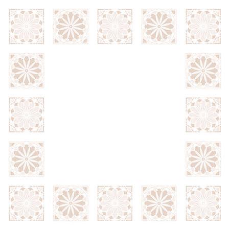 abstract geometric arabic seamless pattern background