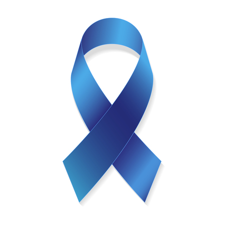 Prostate Cancer Awareness Ribbons. Medical And Health Concept Ilustrace