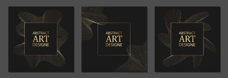 Set of luxury cover templates. Vector cover design for placards, banners, flyers, presentations and cards Иллюстрация