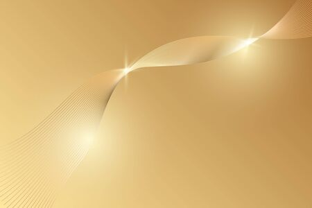 Abstract gold luxury background. Vector illustration Иллюстрация