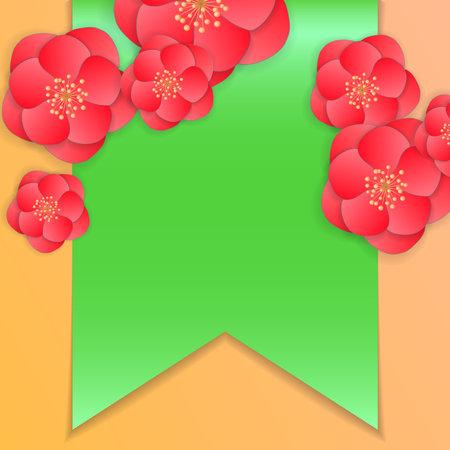 Valentine's day card concept. Romantic background. 向量圖像