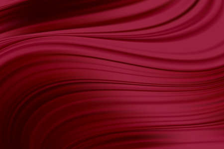 Red Silk Fabric Abstract Background, Vector Illustration