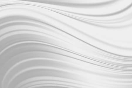 Abstract white fabric silk texture. Milk waves for background