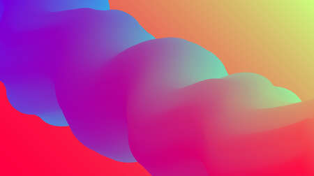 Website abstract background. Bright colorful dynamic shapes landing page 向量圖像