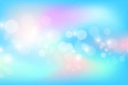 Bright holographic background with sparkles, vector illustration.