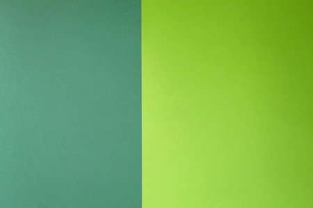 greenery: Green and greenery colored paper background. Copy space for text or image