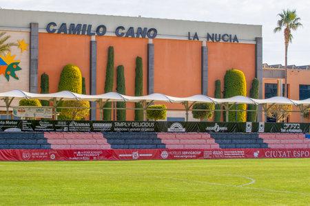 La Nucia, Spain, February 16, 2018: Sport center Ciutat Esportiva Camilo Cano in La Nucia, Spain.