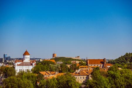 View to Vilnius, Lithuania
