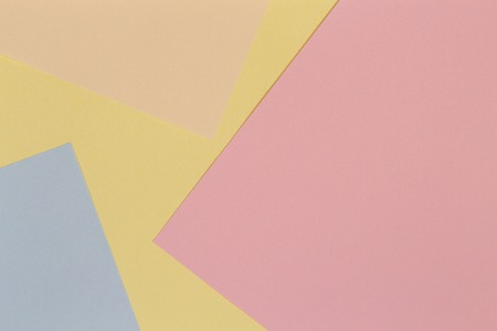 Abstract colorful paper background. Creative geometry design pastel color wallpaper