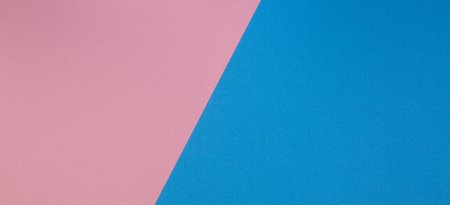 Blue and pink two tone diagonal devided color paper background