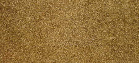 Brown raw sugar texture banner background