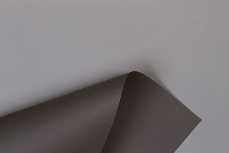 Abstract geometric shape gray brown color paper background