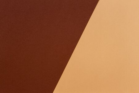 Color papers composition background with beige and brown tones 写真素材