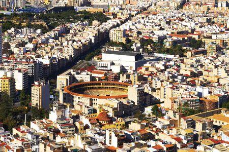 Panoramic view of Alicante city, Costa Blanca, Spain