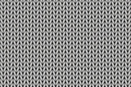 Strickmuster. Wolle nahtlose Hintergrund. Vektor-Illustration Standard-Bild - 68354490
