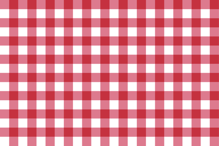 chequer: Classic red checkerboard Chequer seamless pattern for textile, paper print. Illustration