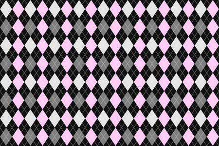 argyle: Classic argyle seamless pattern for textile, paper print.