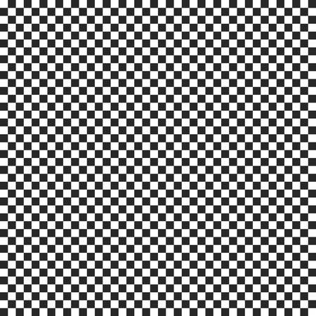Checkmate or chess seamless pattern. Vector texture  イラスト・ベクター素材