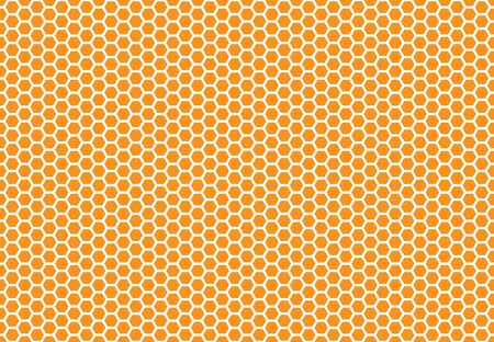 Honey bee comb background pattern. Honeycomb seamless background. Simple texture. hive bees wax Illustration. Vector print bee honey comb wax