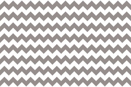 Classic zig-zag simple pattern for textile. vector seamless texture. White grey. graphic illustration zig zag pattern Vector Illustration