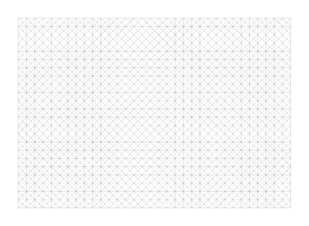 Designer draft blank vector grid. House floor layout interior project planner. Printable plan scheme template. Building project. Graphic grid template