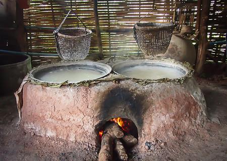 boiling: Rock salt boiling
