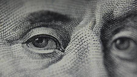 Eyes of Benjamin Franklin