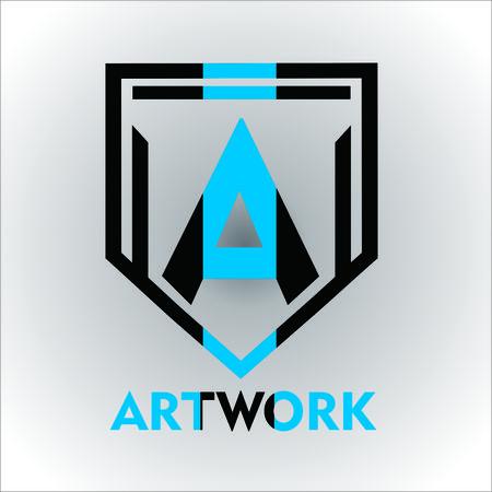Artwork icon template design vector illustration. Фото со стока - 98888069