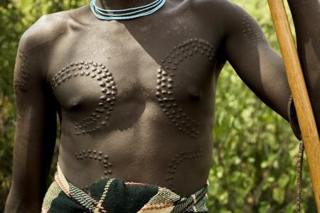 Mursi -  Omo valley Ethiopia, Africa