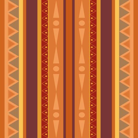 Seamless ethno pattern